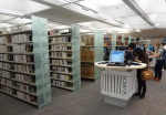 New SAULCat terminals and multimedia section of the Main Library.