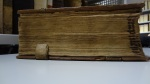 "The inked fore-edge title (reading: ""Stapule[n]sis"") of TypGC.B21HL."