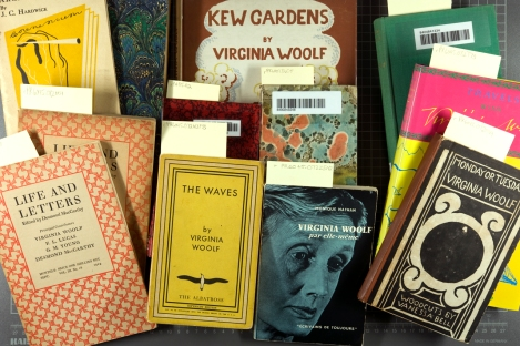 A selection of the new additions to the growing collection of early Virginia Woolf and Hogarth Press works.