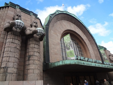 The iconic Helsinki Central Railway Station. This city is an architectural dream!