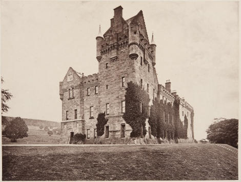 A carbon print of  from The castles and mansions of Renfrewshire and Buteshire : illustrated in sixty-five views by A.H. Millar (St Andrews copy at Photo DA880.R4M5).