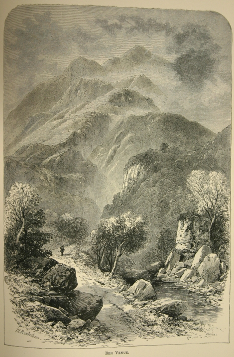 a sample of the archetypally romantic view of Scottish scenery, from Scottish pictures drawn with pen and pencil by Samuel G. Green (London, 1886) sDA865.G8)