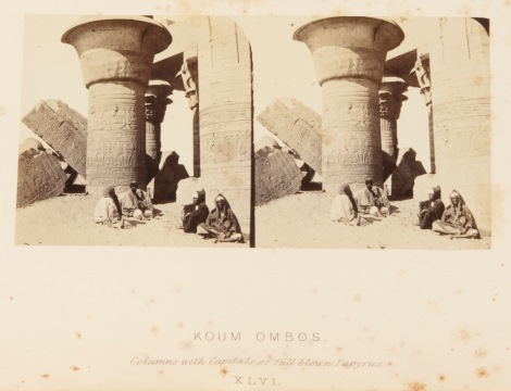 'Koum Ombos' from Egypt, Nubia, and Ethiopia. Illustrated by one hundred Stereoscopic photographs. Frith, Francis, 1862 (St Andrews copy at Photo DT47.F8)