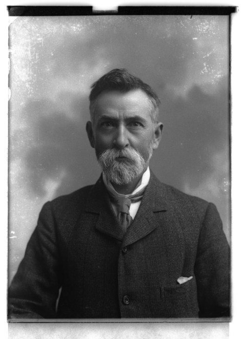 Dr David Hay Fleming, 1905, in a photograph taken by John Fairweather (GMC-F-107).