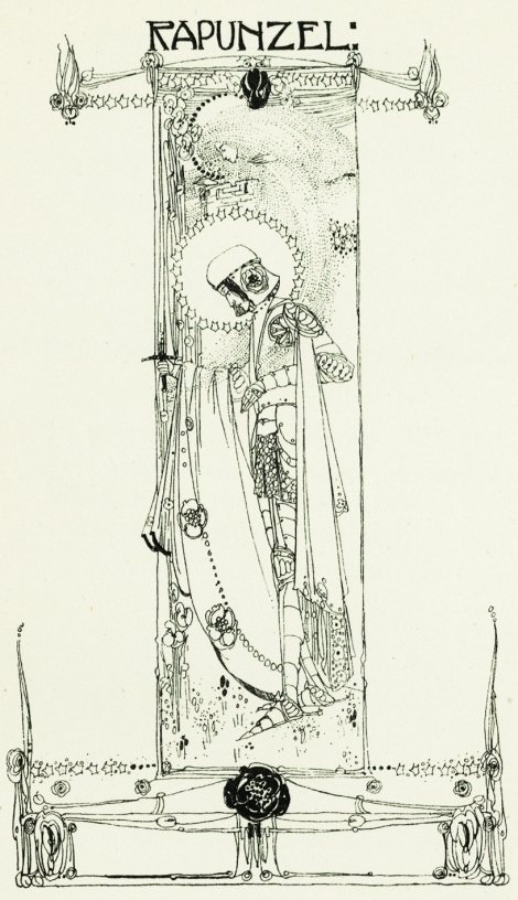 """Rapunzel"" by Jessie M. King from"