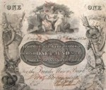 Dundee Union Bank £1 note, 1835