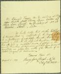 Testimonials in support of application of John Faithorne for MD, 1819
