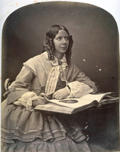 'Mrs Esther Adamson,' by Dr John Adamson, 1856 (St Andrews ALB-4-10)