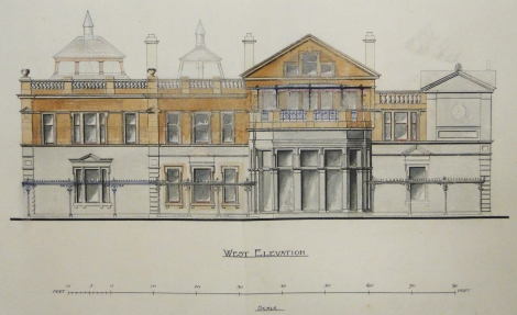 Gillespie and Scott's alterations to the Royal and Ancient Clubhouse, St Andrews, 1898 (St Andrews ms37778b/15)