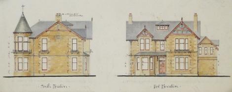 Villa at Rathelpie, St Andrews, 1891