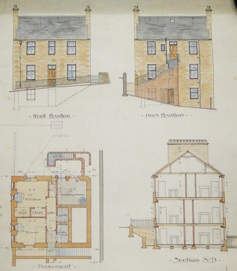 House, Bridge Street, St Andrews, 1889