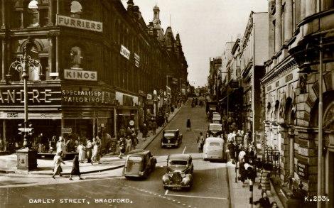 'Darley Street, Bradford,' by J Valentine & Co, 1950 (St Andrews JV-K-253)