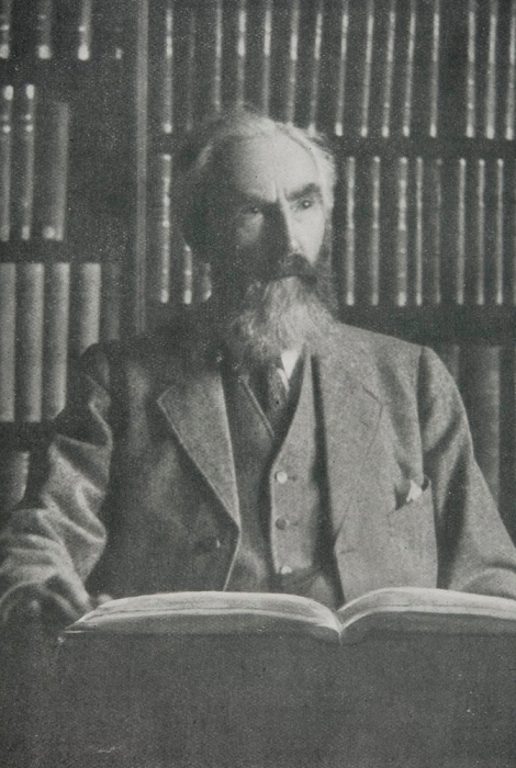 A portrait of Anderson, an important figure in the history of the University of St. Andrews. He held a number of positions within the University including Librarian, Secretary, Quaestor, and Registrar, and was Keeper of Muniments until his death in 1927.