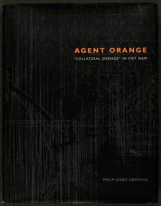 Front cover of Philip Jones Griffiths' Agent Orange (St Andrews copy Photo DF559.8C5G8)