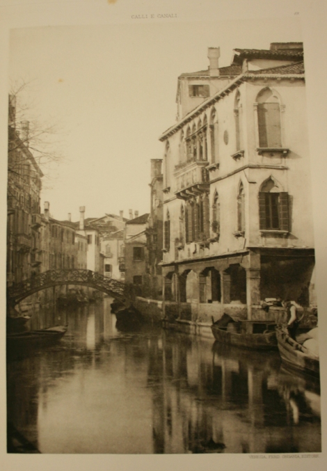 Plate 19 from Streets and canals in Venice (St Andrews copy Photo G674.E93)