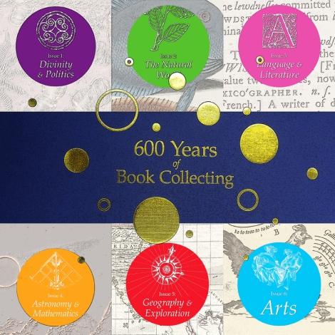 600 years of book collecting composite feature