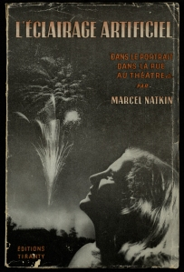 Front cover of Marcel Natkin's guide to using artificial light (Photo TR590.N38)