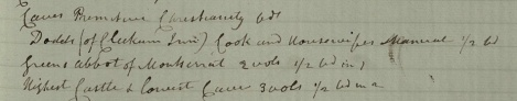 Entry for the Manual in 'Books received from Stationers' Hall, 1820-1837', p. 165. UYLY107/6.