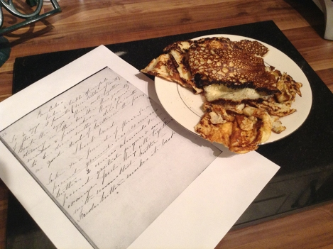 I didn't do Mrs Greig's recipe justice. I apologise!
