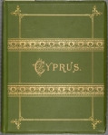 Front cover of Thomson's about Through Cyprus with a Camera in the Autumn of 1878.