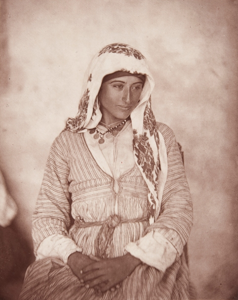 'A Cyprian Maid,' from John Thomson's Through Cyprus with a Camera in the Autumn of 1878 (St Andrews copy at Photo DS54.T5)