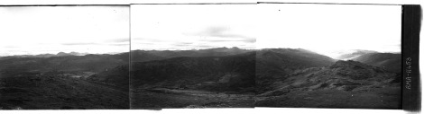 Panoramic view looking south from Creag na Caillich. (RMA-H-451, RMA-H-452, RMA-H-453)