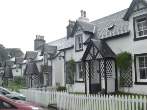 'Neat row of cottages'