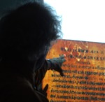 Harris points out a projected watermark on a 16th century octavo