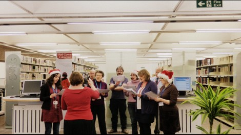 library choir performance 3_1