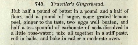 Traveller's Gingerbread recipe_1