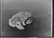 An aerial view of the Bass Rock by J Valentine & Sons (1962)