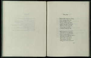 msPR 6037 A9 A17 Sassoon Poems 1918-1939_Long Ago_1