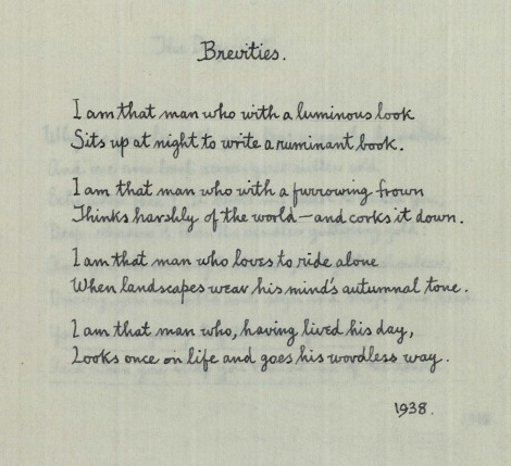 msPR 6037 A9 A17 Sassoon Poems brevities_1