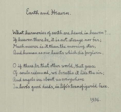msPR 6037 A9 A17 Sassoon Poems Heaven and Earth_1