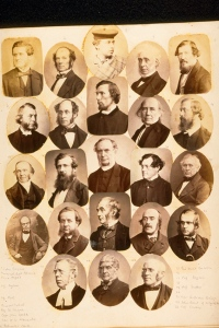Composite photographs of gentleman of St Andrews and district, 1860 who may have belonged to the Lit and Phil Soc. ALB-49-22