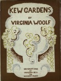 The cover of the third edition of Kew Gardens (1927)