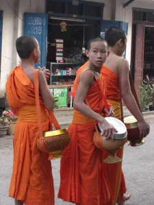 Monks in Laos_1