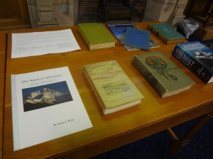 A selection of books from the prizewinning collection.
