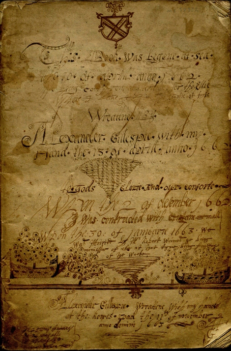 Gillespie's Journal_Title Page_1