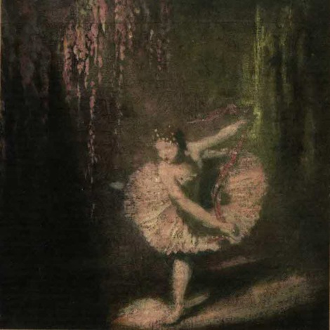 Glyn Warren Philpot's painting The Dance of the Sugar Plum Fairy, which adorns the cover of the Library's copy of Hoffmann's tale. I was rather disappointed that there was no Sugar Plum Fairy in The Nutcracker.