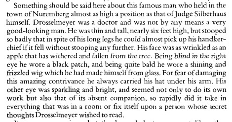 The description of Dr Drosselmeyer, from p. 2 of the text.
