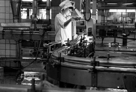 Soviet woman factory worker. ©Franki Raffles Estate