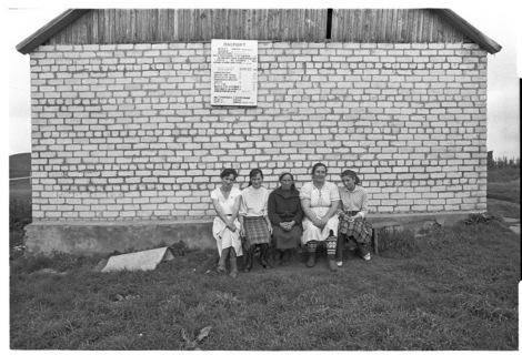Soviet women, by Franki Raffles, 1989 [2014-4-032-17a].©Franki Raffles Estate