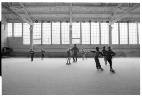 Soviet ice skating class, by Franki Raffles, 1989 [2014-4-106-17a]. ©Franki Raffles Estate