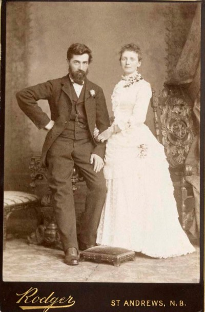 Portrait of Mr. and Mrs. David Hay Fleming