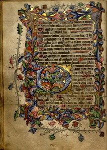 Image from the 'St Andrews Psalter' (msBX2033.A00 [ms5455])
