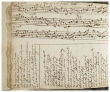 """""""A manuscript containing over 100 Scottish Airs and songs with musical notation and lyrics. Attributed to Alex Smith, 1722"""""""