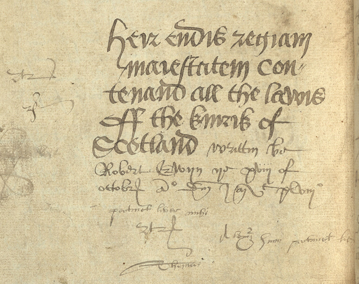 2017 visiting scholarship medieval scottish law echoes from the