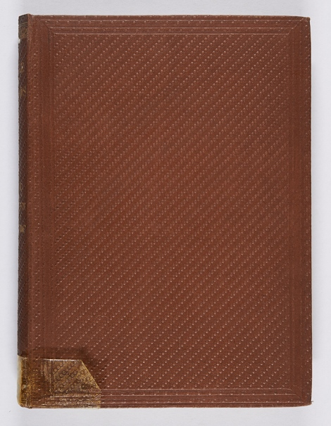 A diagonal beaded-line grain binding. A bundle of ballads (London, Tinsley Brothers, 1863), r PR4878.L7B8.