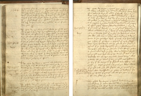Pages from the burgh court books of Crail